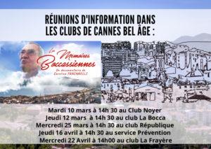 Rendez-vous dans les clubs de Cannes Bel Âge