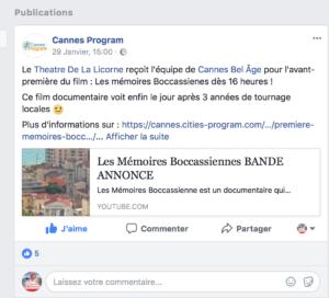 Cannes Program